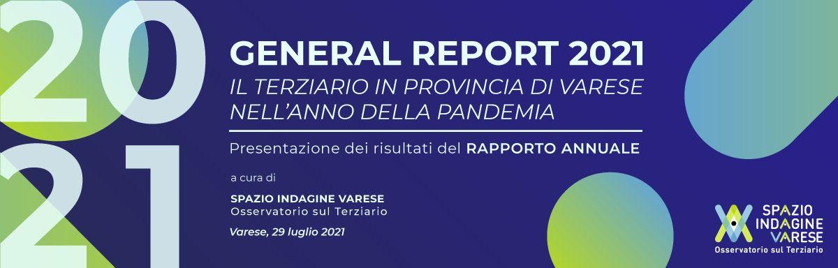 IL TERZIARIO DELLA PROVINCIA DI VARESE NELL'ANNO DELLA PANDEMIA - Presentazione dei risultati del rapporto annuale