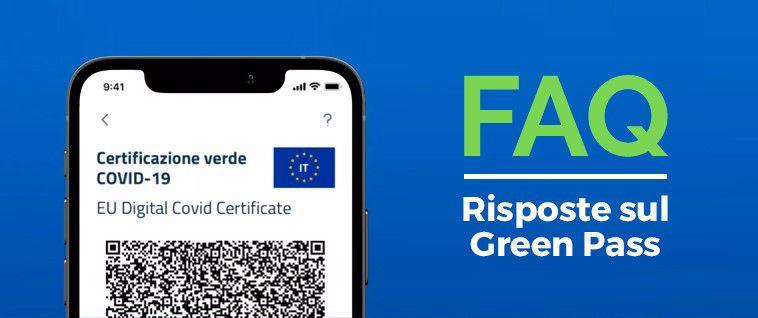 AGGIORNATE LE FAQ DEL GOVERNO SUL GREEN PASS